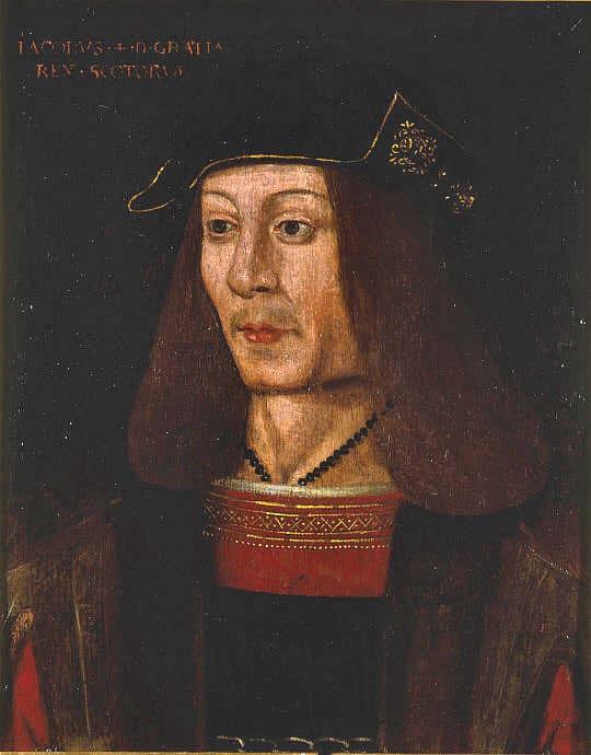 король Шотландии Яков IV