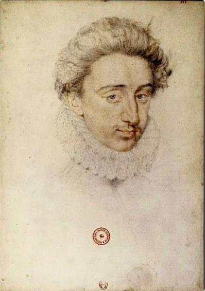 Генрих Наваррский в 19 лет