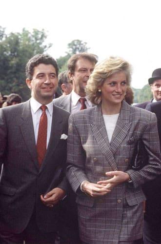 Принцесса Уэльская и Патрик Джефсон в 1989 году