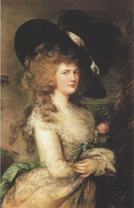 Портрет герцогини Джорджианы