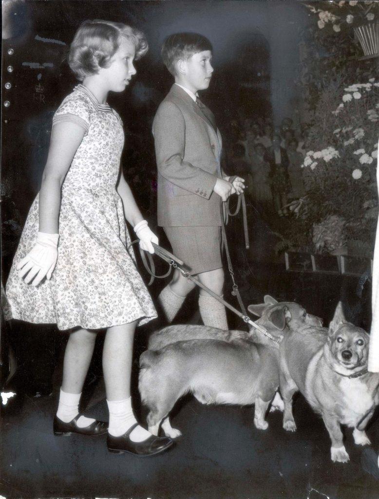 Принц Чарльз и принцесса Анна
