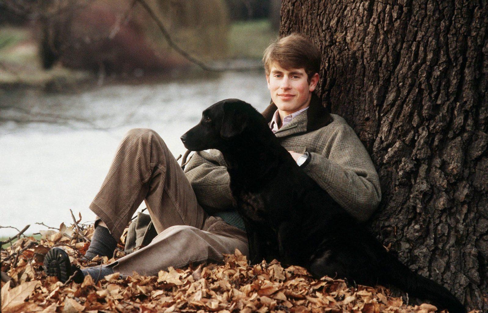 Принц Эдвард и его пёс