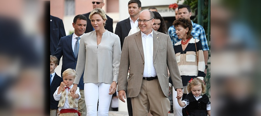 Photo of Княгиня Монако Шарлин дала редкое интервью о князе Альбере II и детях
