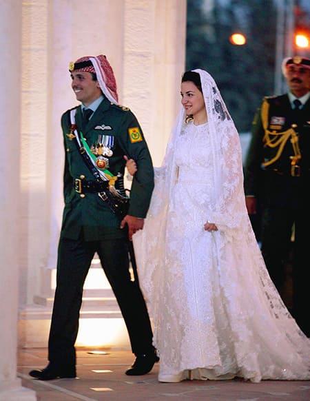 Принц Хамза с первой женой