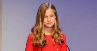 Принцесса Леонор выступила с речью на каталонском языке на фоне политического конфликта