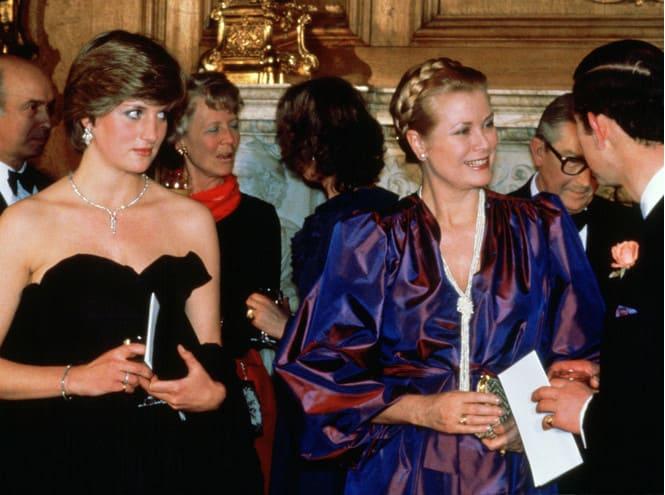 Диана Спенсер, Грейс Келли и принц Чарльз, 9 марта 1981 года
