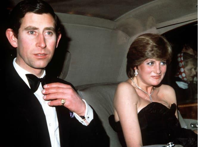 Диана Спенсер и принц Чарльз, 9 марта 1981 года
