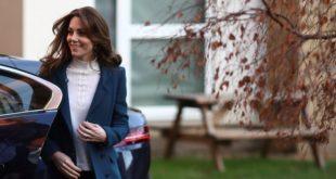 Герцогиня Кембриджская посещает лондонский детский сад