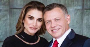 Королева Иордании Рания поделилась фотографией с мужем в честь дня его рождения