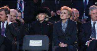 Камилла, герцогиня Корнуолла, принимает участие в праздновании 75-летия освобождения Освенцима