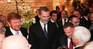 Королевские особы Европы отпраздновали в Иерусалиме освобождение Освенцима