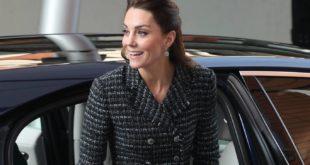 Герцогиня Кембриджская посетила лондонскую детскую больницу Эвелины