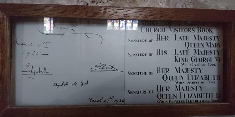 Photo of Неожиданная находка – автограф будущей королевы Елизаветы II