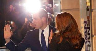 Сверкающие туфли и твидовое платье: принц Уильям и Кейт прибыли в театр