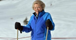 Мать короля Нидерландов в 82 года продолжает кататься на лыжах