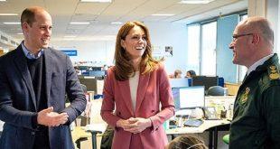 Герцог и герцогиня Кембриджские посетили лондонский центр скорой помощи