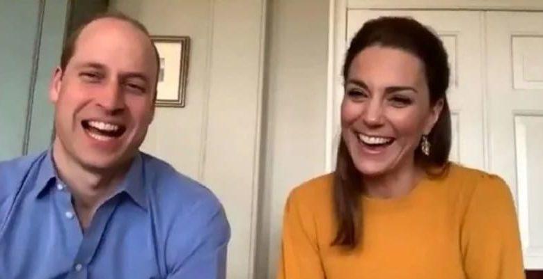 Photo of Герцог и герцогиня Кембриджские пообщались с учителями и учениками во время онлайн-урока