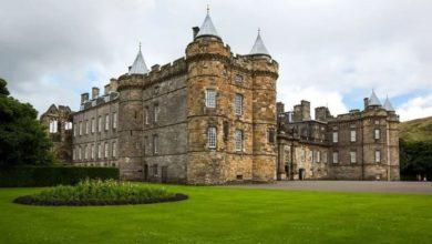 Photo of Холирудхаус, королевская резиденция королевы Елизаветы в Шотландии