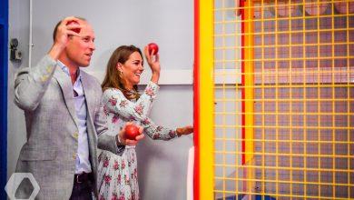 Photo of Кембриджи сыграли в игровые автоматы во время официального визита